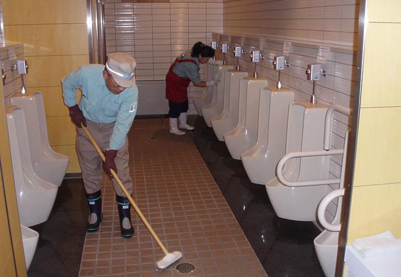 公衆トイレの維持管理[登別支部]