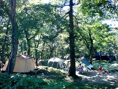 下山キャンプ場