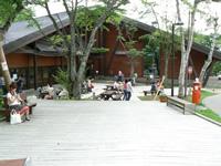 支笏湖ビジターセンター 外観