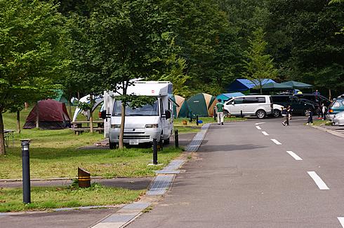 十和田湖生出(おいで)キャンプ場